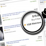 Add 100 Ebay watchers to item
