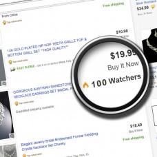Add 100 Ebay watchers to item