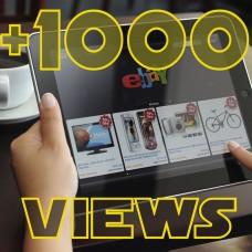 Add 1000 Ebay Views to item