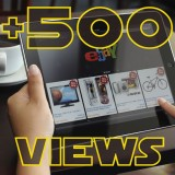 Add 500 Ebay Views to item